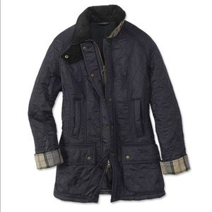 Women's Beadnell Barbour Quilted Jacket Navy